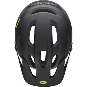 Bell 4Forty Helmet cliffhanger matte/gloss black/bright green